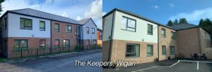 keepers wigan apartment slider